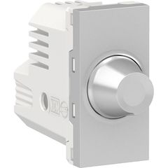 Dimmer giratorio para lamparas led 150w color aluminio