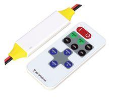 Controlador rf monocromatico 12v 180w ip65 con remoto