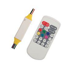 Controlador maestro rgbw 12v 138w ip65 con control remoto