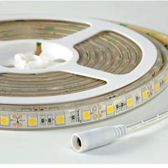 Tira flexible de led verde 5050 smd a 12v ip68 3000k 72w 14 4w m 5 metros