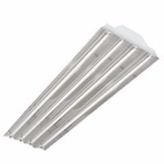 Luminario para suspender en techo lampara fluorescente lineal t5 4x50w 6500 k 127 277v