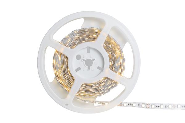 Tira flexible de led blanco c%c3%a1lido   5050 smd   12v   5 metros   3000k. tecnolite 1